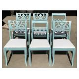 Set of 6 Wood Chairs