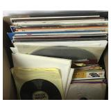 Vinyl Record Collection - LPs & 45s