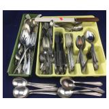 Silver Plated & Stainless Steel Flatware