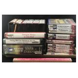 Assortment of CD and Cassette Audiobooks