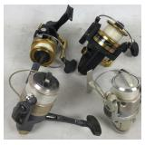 4 Spinner Fishing Reels including 2 Penn Reels