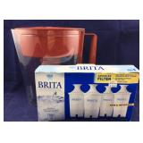 Brita Pitcher with NIB Brita Filters