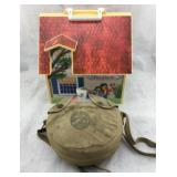 Vintage Boy Scouts Canteen & Pet Clinic Dollhouse