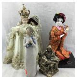 Nishi Doll, King Doll, Pieta Sculpture, Etc.