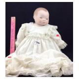 Vintage German porcelain doll