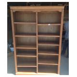 Whalen Furniture oak bookshelf