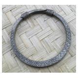 Metal Etched Bracelet Cuff