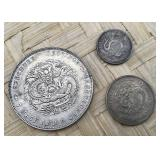 Trio of Oriental Coins