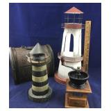 Lighthouses, Small Coffee Grinder Plus