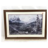 Framed Wild Landscape Art - Print