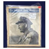 1945 New York Times Magazine - Gen. Carl Spaatz