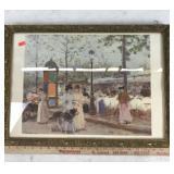 SPRINGTIME Oil Painting Printout