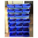 AkroBins Plastic Bin Organizer with Metal Support