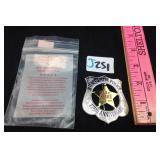US Capitol police 175th anniversary badge