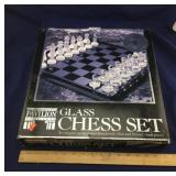 Pavilion Limited Glass Chess Set