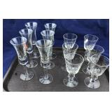 2 Sets of 6 Glasses