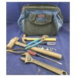 Craftsman Canvas Bag With Tools