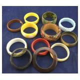 One Dozen Bangle Bracelets