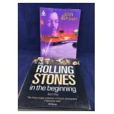 Jimi Hendrix Music Book and Rolling Stones