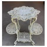 Ornate Cast Iron Plant Stand