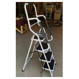4 Step Ladder with Oversized Slip Resistant Steps