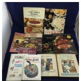Collection of Vintage Cookbooks