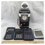 Calculators & Fossil Classics Gasoline Pump