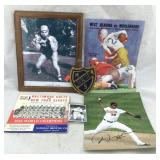 Sports Memorabilia: Baltimore Colts, Orioles, Etc.