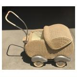 Vintage Art Deco West Germany Hecker Doll Buggy