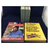 3 Irving Stone Books and 2 Home Improvement Books