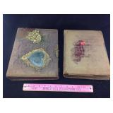 Antique photo albums and pictures