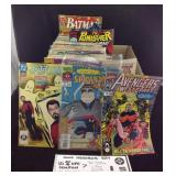 Box of 1990s Action hero comics