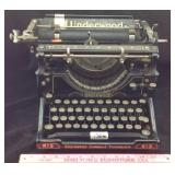 Antique Underwood standard typewriter