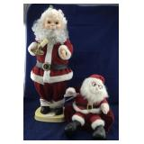 Animated Santa and Battery Operated Santa