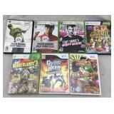 Xbox 360 & Nintendo Wii Games