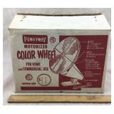 Vintage Penetray Motorized Color Wheel