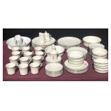 Noritake China Set 7720 Sterling Cove Pattern