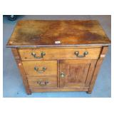 Antique New England washstand