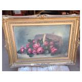 Antique Still Life Oil on canvas