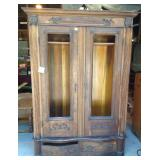 Antique Oak Break Down Armoire