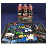 Small Toy Cars, Trucks and Classic Cal Coke 6 Pack