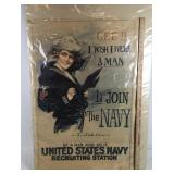 WWI U.S. Navy Recruiting Poster - H.C. Christy