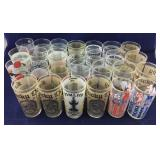 Vintage Kentucky Derby & Preakness Glasses