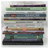 Collection of Books on Home & Garden Design