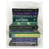 Collection of Books on Gardening
