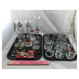 Collection of Beer and Liquor Glasses