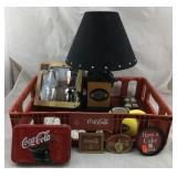 Coca-Cola Crate, Harley-Davidson Lamp & More