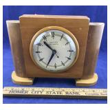 Vintage Electric Wooden United Clock