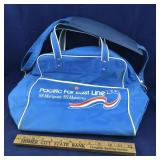 Pacific Far East Line Vinyl Travel Bag