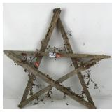 Decorative Wood Star